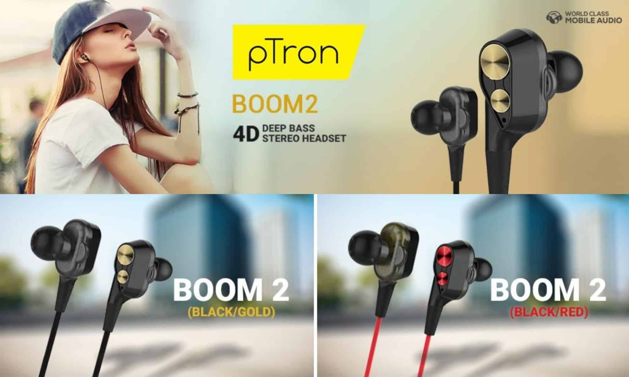 pTron Earphones