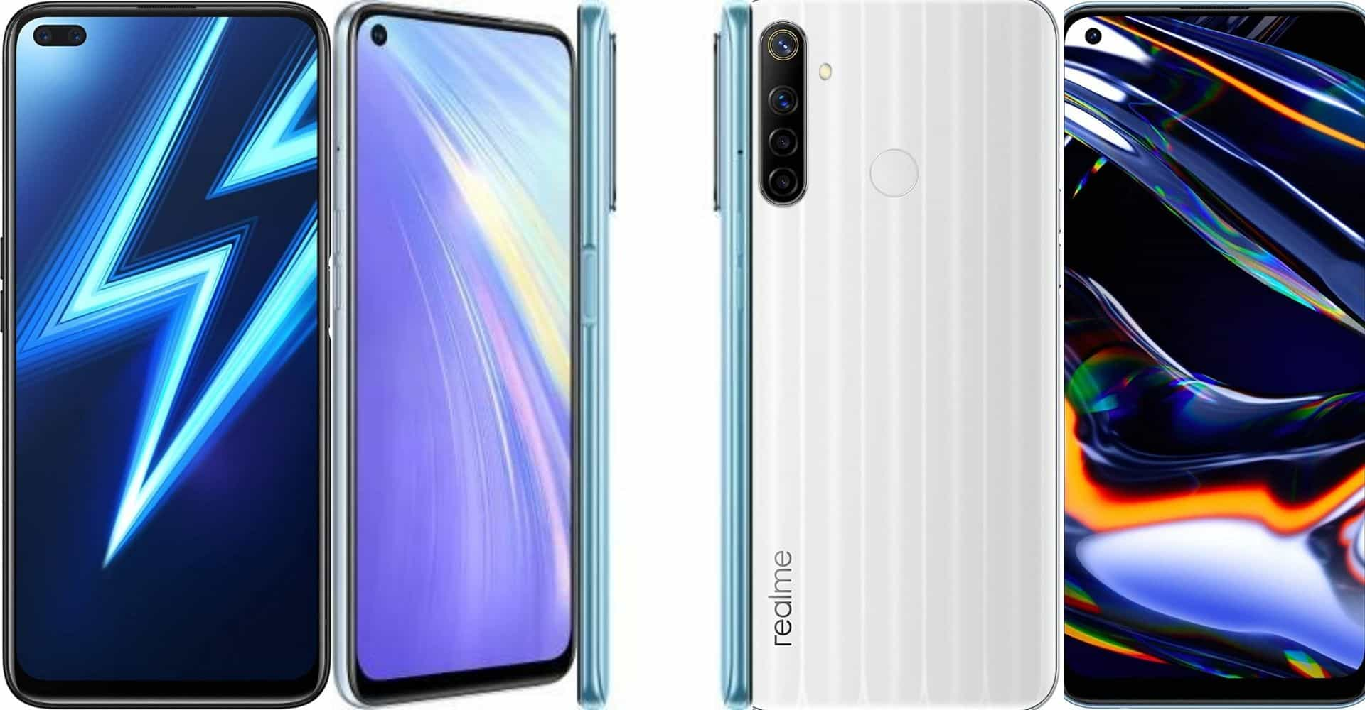 Realme latest smartphone