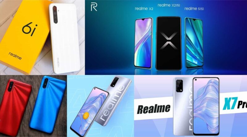 Top upcoming realme phones in 2021