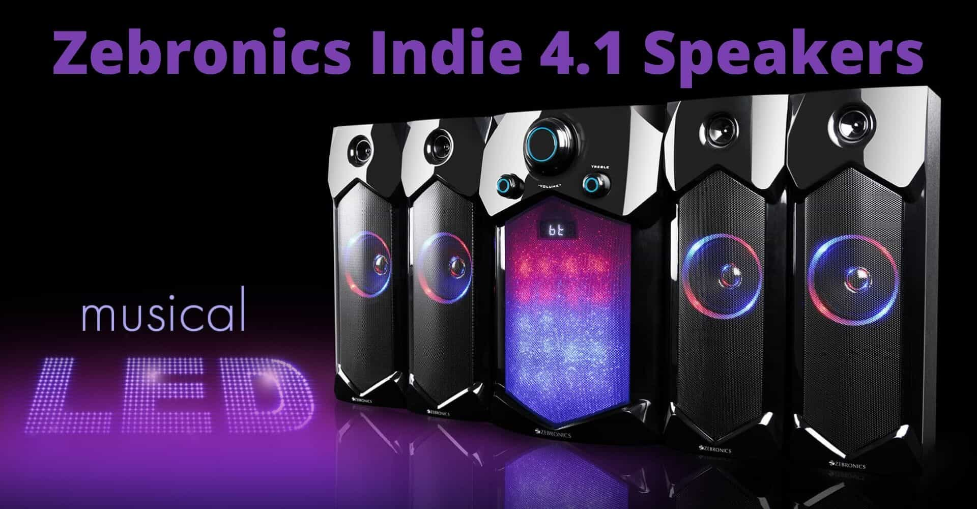zebronics indie 105 w bluetooth home theatre review