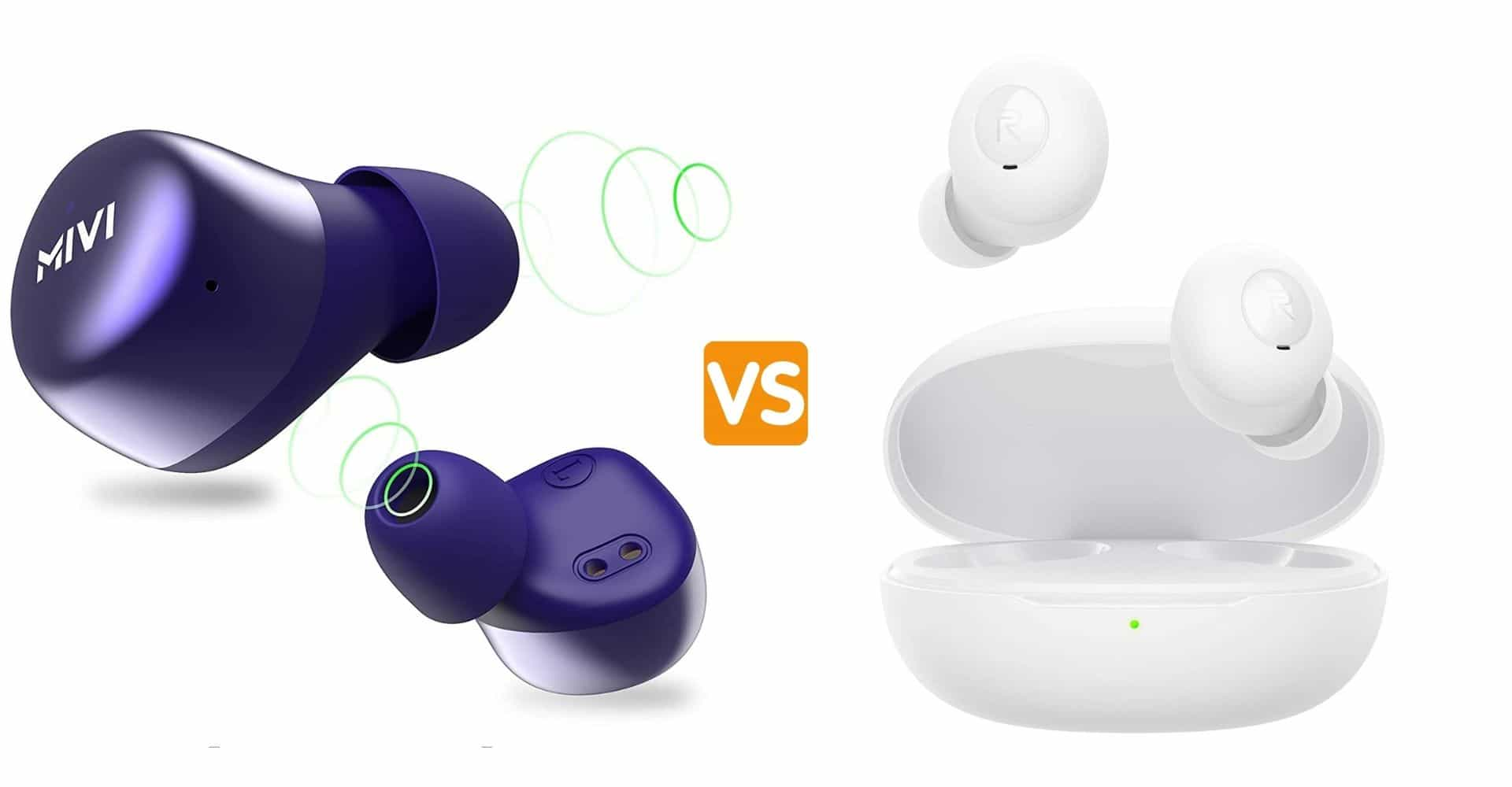 Mivi Duopods M40 VS Realme Buds Q