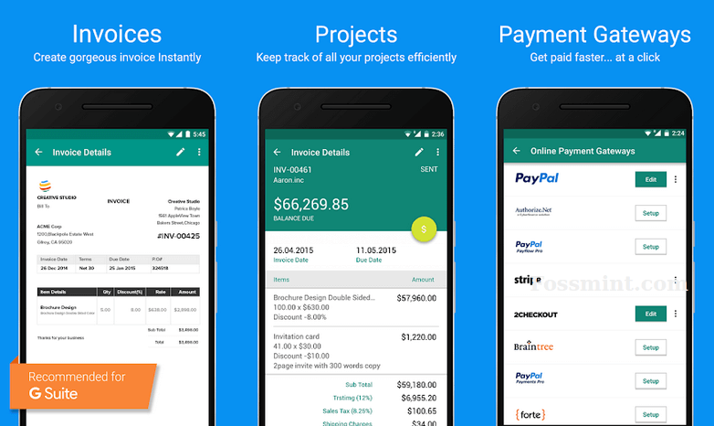 Professional Invoice Maker App for Small Businesses